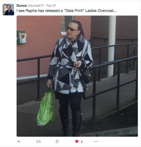 G Rapha coat