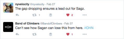 OHN Sagan to lose 1
