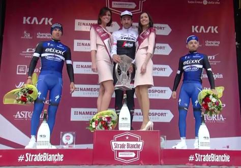 Strade 2016 podium men's