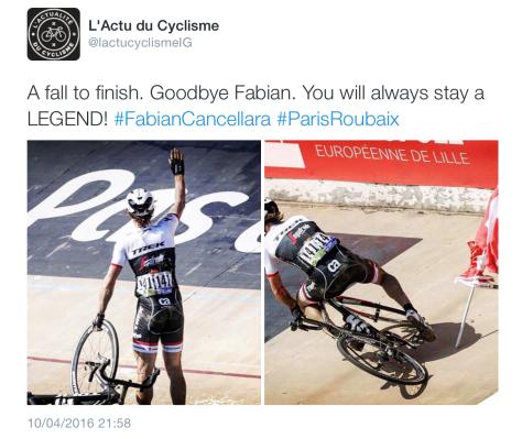 Finish Fabian fall
