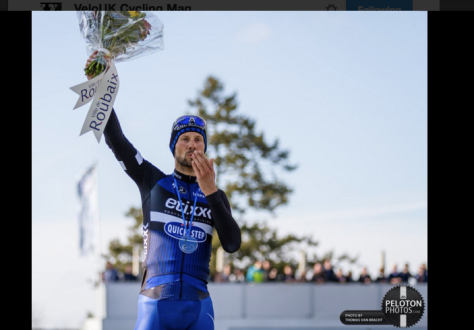 Finish podium Boonen 4
