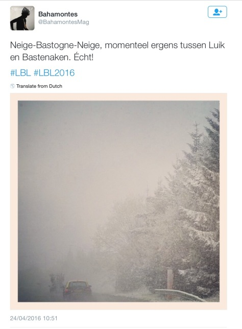 LBL during snow 5