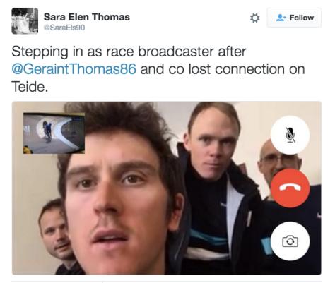 Race Sky guys Facetime