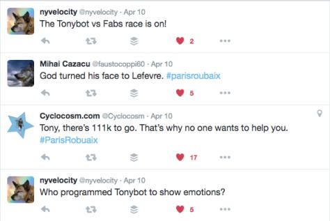 Race Tonybot