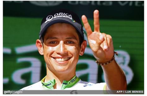 Esteban Chaves Stage 14 Giro GETTY