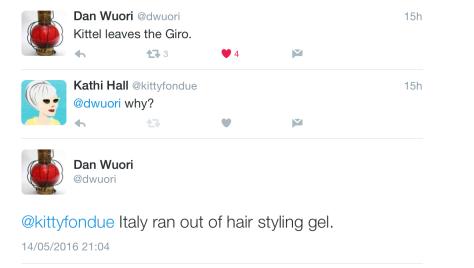 Giro Kittel leaves 1