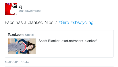 Giro Shark blanket