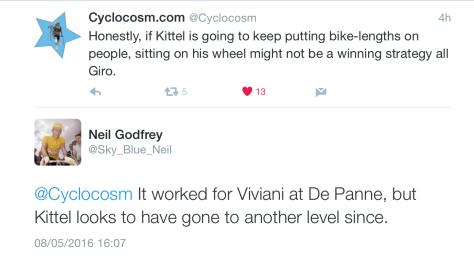Giro St3 Kittel wheel 1