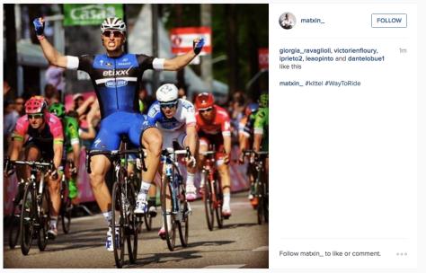 Kittel stage 2 win Giro 2016