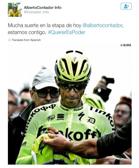 Contador sign