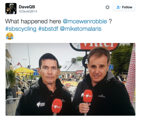 G McEwen stunned