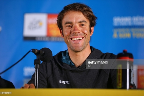 Cycling: 103rd Tour de France 2016 / PC BMC Racing Team Amael MOINARD (FRA) Press Conference BMC Racing Team (USA) / TDF / © Tim De Waele