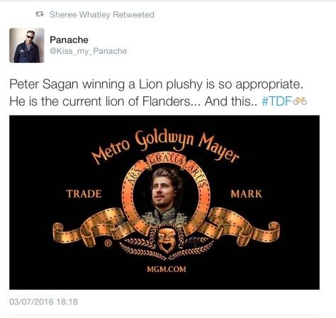 Sagan MGM lion