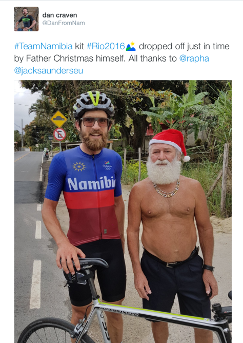 Dan and Santa