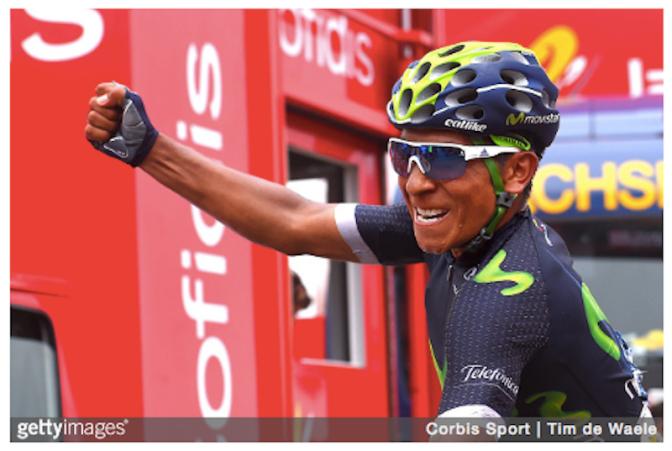 Quintana Stage 10 Vuelta 2016 (GETTY:Tim de Waele)