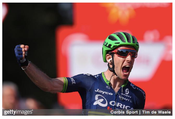 Simon Yates St 6 Vuelta 2016 (GETTY)