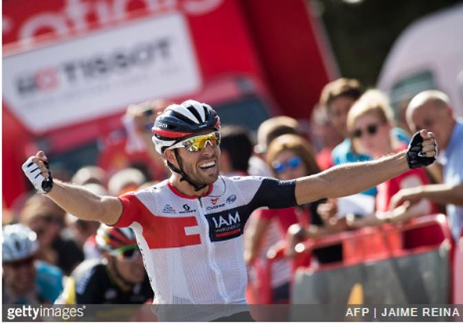 Jonas van Genechten IAM Vuelta Stage 7