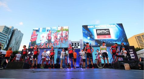 BMC at TDU Team Presentation (image: BMC)