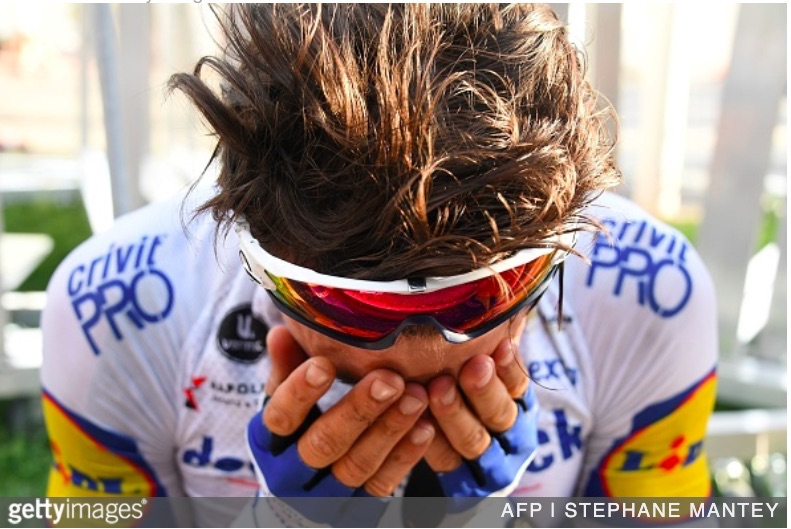 Tour De France 2020 Stage 2 Alaphilippe Fires It Up For An Emotional Stage Win Velovoices